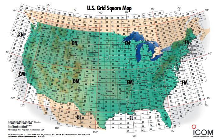 US Grid Square