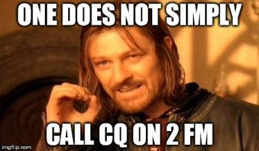 Funny CQ 2m